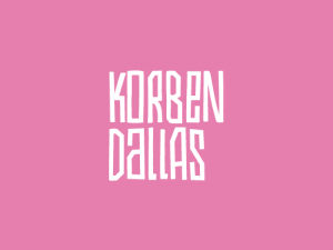 KORBEN DALLAS // LOGO