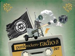 PUNKROCKERS RADIO // FLYER