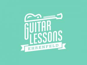 GUITAR LESSONS EHRENFELD // LOGO